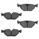 1ABPS00731-Brake Pads Rear  Nakamoto MD763