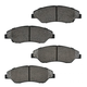 1ABPS00709-1998-02 Kia Sportage Brake Pads Front