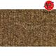 ZAICK22857-1989-93 Cadillac Fleetwood Complete Carpet 4640-Dark Saddle  Auto Custom Carpets 10662-160-1053000000