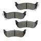 1ABPS00707-2004-08 Chrysler Pacifica Brake Pads Rear