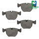 1ABPS00702-BMW Brake Pads Front  Nakamoto CD681