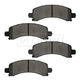 1ABPS00706-Brake Pads Rear