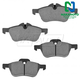 1ABPS00704-Mini Cooper Brake Pads Front