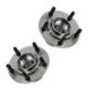 1ASHS00688-Wheel Bearing & Hub Assembly Rear Pair