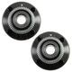 1ASHS00693-Wheel Bearing & Hub Assembly Rear Pair