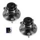 1ASHS00668-2000-05 Toyota MR2 Wheel Bearing & Hub Assembly Front Pair