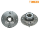TKSHS00436-Nissan Altima Axxess Stanza Wheel Bearing & Hub Assembly Rear Pair Timken 512016