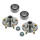 1ASHS00645-Honda CR-V Element Wheel Bearing & Hub Kit Front Pair