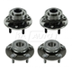 1ASHS00616-Wheel Bearing & Hub Assembly