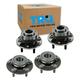 1ASHS00616-Wheel Bearing & Hub Assembly Rear Front