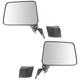 1AMRP01231-1987-95 Suzuki Samurai Mirror Pair