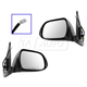 1AMRP01223-2012-15 Toyota Tacoma Mirror Pair