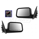 1AMRP01293-2007 Ford Edge Mirror Pair