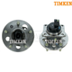 TKSHS00447-Cadillac Wheel Bearing & Hub Assembly Rear Pair Timken 512006