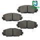 1ABPS00614-Brake Pads Front