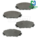 1ABPS00615-Brake Pads Front