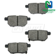 1ABPS00616-Brake Pads Rear