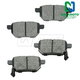 1ABPS00617-Brake Pads Rear  Nakamoto MD1354