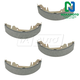 1ABPS00631-Brake Shoes Rear