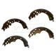 1ABPS00630-2005-16 Toyota Tacoma Brake Shoes Rear