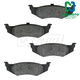 1ABPS00638-Brake Pads Rear