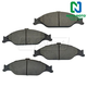 1ABPS00636-Ford Mustang Brake Pads Front