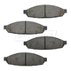 1ABPS00642-2003-05 Lincoln Aviator Brake Pads Front