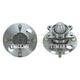 TKSHS00440-Wheel Bearing & Hub Assembly Rear Pair Timken 512191