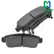 1ABPS00646-Brake Pads Rear