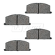 1ABPS00647-Brake Pads Front