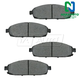 1ABPS00607-Jeep Brake Pads Front