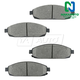 1ABPS00606-Jeep Brake Pads Front Nakamoto MD1080