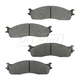 1ABPS00604-Dodge Brake Pads Front  Nakamoto MD965