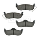 1ABPS00609-Jeep Brake Pads Rear