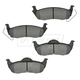 1ABPS00608-Jeep Brake Pads Rear