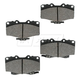 1ABPS00699-Toyota 4Runner Pickup Tacoma Brake Pads Front