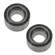 1ASHS00595-Wheel Hub Bearing Front Pair
