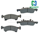 1ABPS00665-2003-06 Brake Pads Front