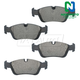 1ABPS00662-BMW Brake Pads Front  Nakamoto CD781