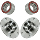 1ASHS00591-BMW Wheel Bearing & Hub Kit Rear