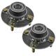1ASHS00573-Hyundai Accent Wheel Bearing & Hub Assembly Rear Pair