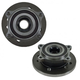 1ASHS00574-Mini Cooper Wheel Bearing & Hub Assembly Pair Front