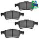 1ABPS00672-Brake Pads Rear