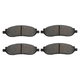 1ABPS00673-2005-07 Ford Brake Pads  Nakamoto MD1068