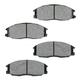 1ABPS00669-2003-09 Kia Sorento Brake Pads Front