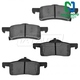 1ABPS00668-2003-06 Brake Pads Rear