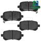 1ABPS00684-Brake Pads Rear