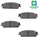 1ABPS00682-Brake Pads Rear Nakamoto MD1194