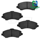 1ABPS00683-Brake Pads Front  Nakamoto MD1273