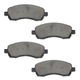 1ABPS00690-Subaru Impreza Legacy Outback Brake Pads Front